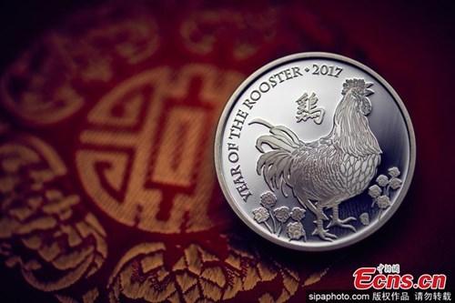 Đồng xu vàng khắc biểu tượng năm Đinh Dậu giá... 235 triệu đồng - 5