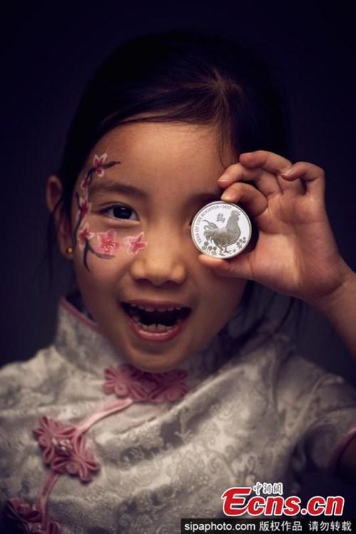Đồng xu vàng khắc biểu tượng năm Đinh Dậu giá... 235 triệu đồng - 2