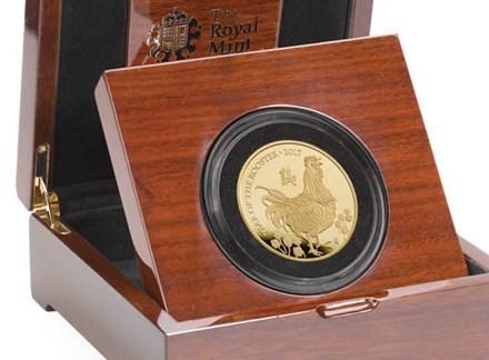 Đồng xu vàng khắc biểu tượng năm Đinh Dậu giá... 235 triệu đồng - 6
