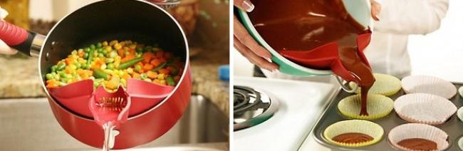 Khuôn thông minh cho nồi: Nhờ thiết bị này, bạn sẽ không phảilo bị đổ thừa nước nữa.