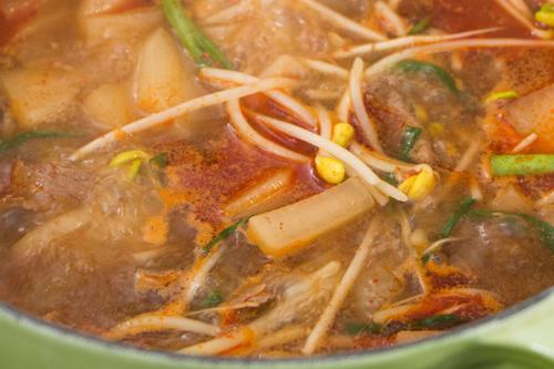 Kích thích vị giác với súp củ cải thịt bò cay kiểu Hàn - 6
