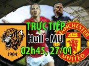 Bóng đá - Chi tiết bóng đá Hull City - MU: Đứt mạch bất bại (KT)