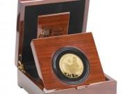 Tài chính - Bất động sản - Đồng xu vàng khắc biểu tượng năm Đinh Dậu giá... 235 triệu đồng
