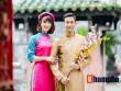 Tiến Minh – Vũ Thị Trang đăng ảnh Tết đẹp như tranh