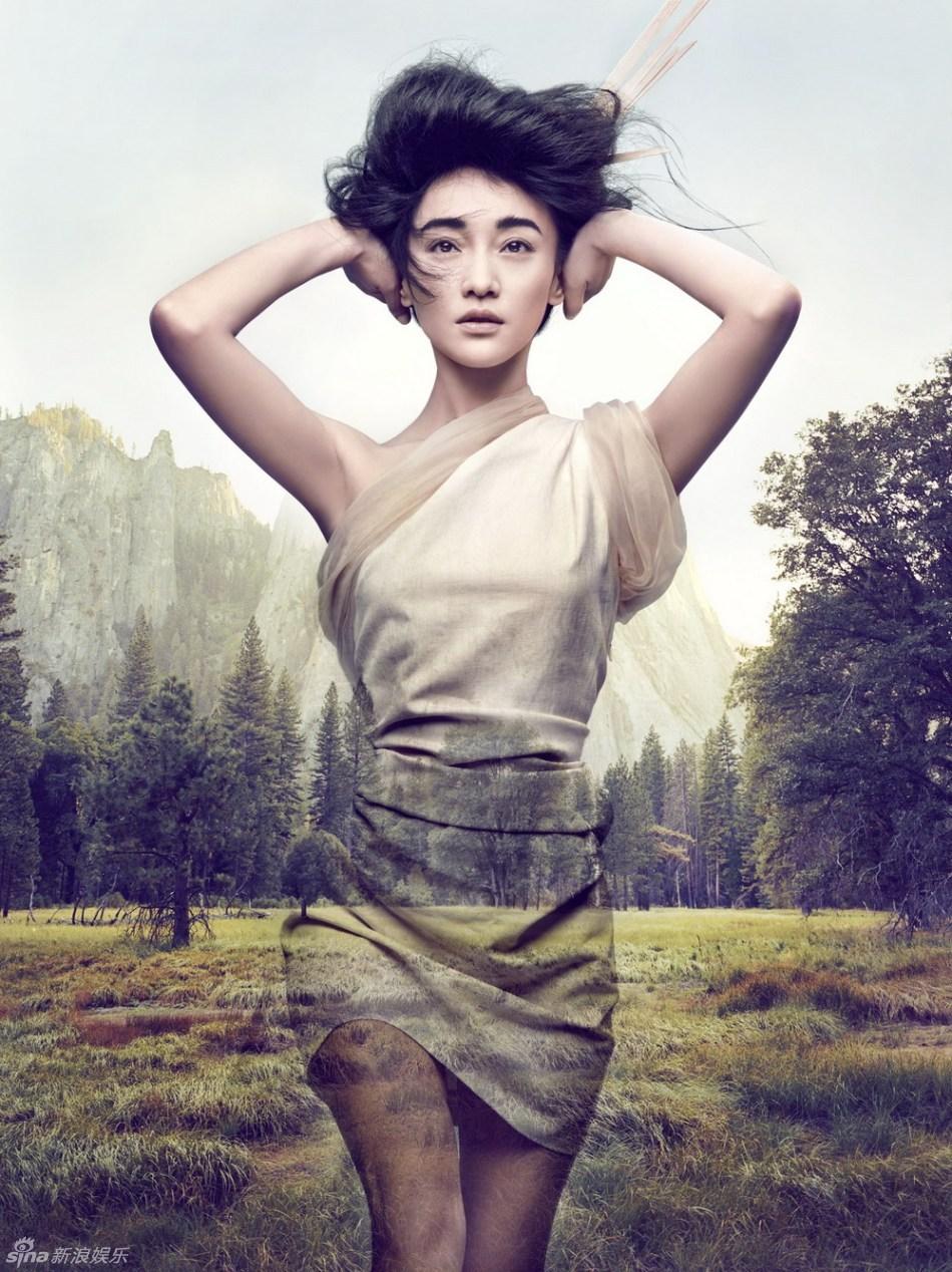 """""""Tiểu Đông Tà"""" Châu Tấn trông như thiếu nữ ở tuổi 42 - 8"""