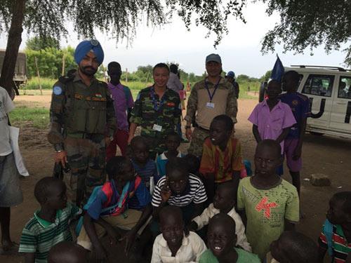 """Tết đặc biệt của sĩ quan """"mũ nồi xanh"""" VN ở Nam Sudan - 2"""