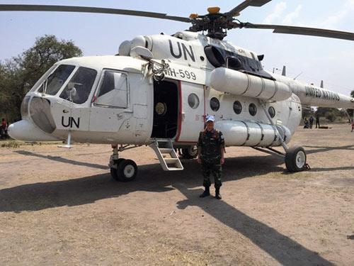 """Tết đặc biệt của sĩ quan """"mũ nồi xanh"""" VN ở Nam Sudan - 4"""