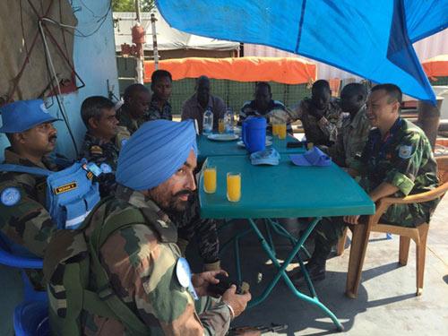 """Tết đặc biệt của sĩ quan """"mũ nồi xanh"""" VN ở Nam Sudan - 3"""