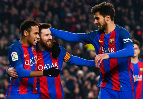"""Barca """"lên hương'', Real """"xuống dốc"""": Số phận đảo chiều - 1"""