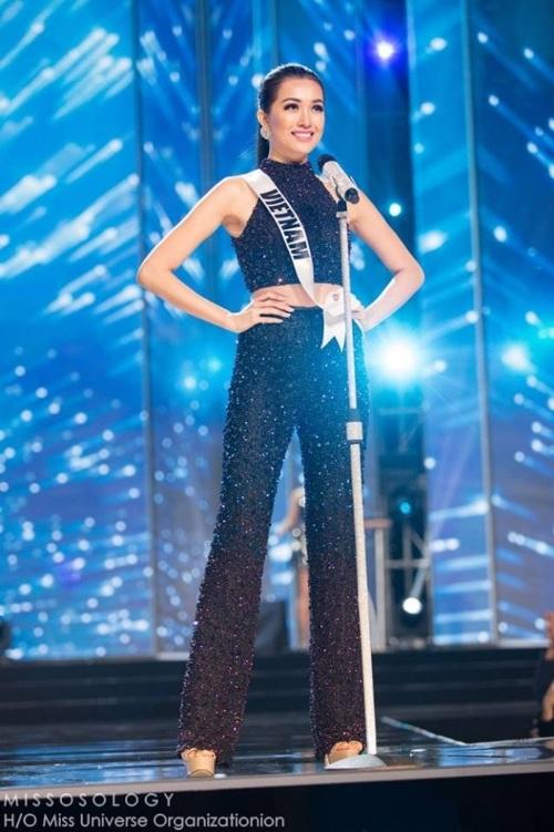 Lệ Hằng siêu ấn tượng, gây tranh cãi tại Miss Universe - 1