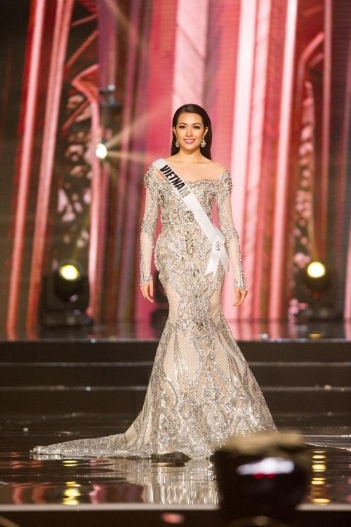 Lệ Hằng siêu ấn tượng, gây tranh cãi tại Miss Universe - 6