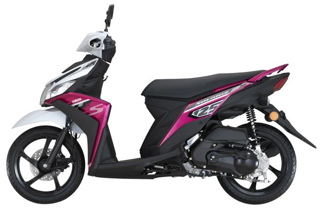 Chi nhánh Yamaha tại Maylaysia vừa chính thức tung ra thị trường nước này mẫu xe tay ga Yamaha Ego Solariz 2017. Mẫu xe này còn được biết đến với tên gọi Yamaha Mio 2017 tại thị trường Việt Nam.