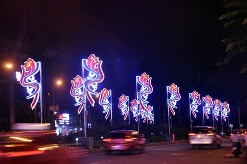 Ngắm phố phường Sài Gòn đẹp lung linh ngày cuối năm - 9