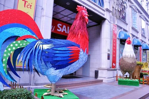 Ngắm phố phường Sài Gòn đẹp lung linh ngày cuối năm - 13