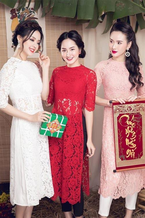 6 kiểu áo dài lạ mắt khiến chị em Việt mê nhất xuân này - 1