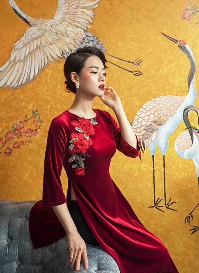 6 kiểu áo dài lạ mắt khiến chị em Việt mê nhất xuân này - 3