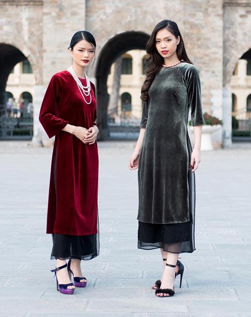6 kiểu áo dài lạ mắt khiến chị em Việt mê nhất xuân này - 4