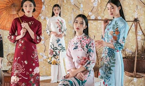 6 kiểu áo dài lạ mắt khiến chị em Việt mê nhất xuân này - 5