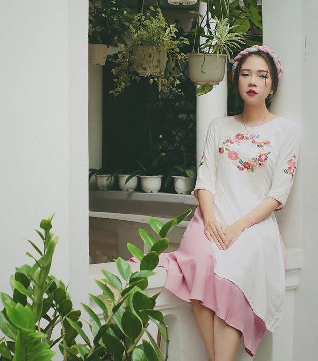 6 kiểu áo dài lạ mắt khiến chị em Việt mê nhất xuân này - 10