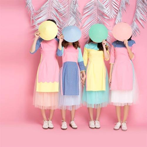 6 kiểu áo dài lạ mắt khiến chị em Việt mê nhất xuân này - 11