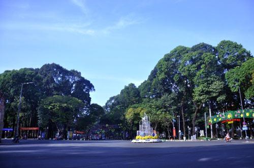 Sài Gòn se lạnh và tĩnh lặng sáng đầu năm - 11