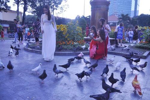 Sài Gòn se lạnh và tĩnh lặng sáng đầu năm - 13