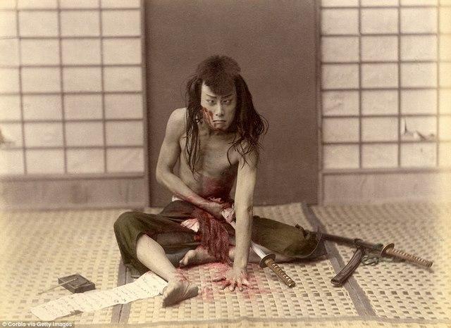 Ảnh màu hiếm có về samurai Nhật cách đây 130 năm - 1