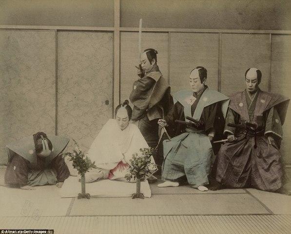 Ảnh màu hiếm có về samurai Nhật cách đây 130 năm - 2