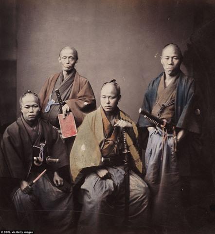 Ảnh màu hiếm có về samurai Nhật cách đây 130 năm - 5