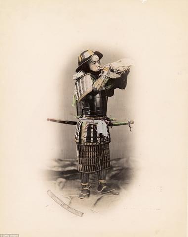 Ảnh màu hiếm có về samurai Nhật cách đây 130 năm - 7