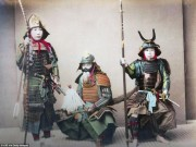 Thế giới - Ảnh màu hiếm có về samurai Nhật cách đây 130 năm