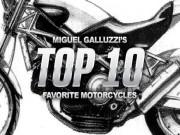 Thế giới xe - Top 10 mẫu mô tô yêu thích của Miguel Galluzzi
