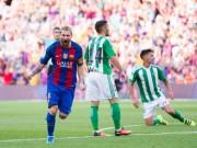 """Bóng đá - Betis - Barcelona: Thách thức """"Gã khổng lồ"""""""
