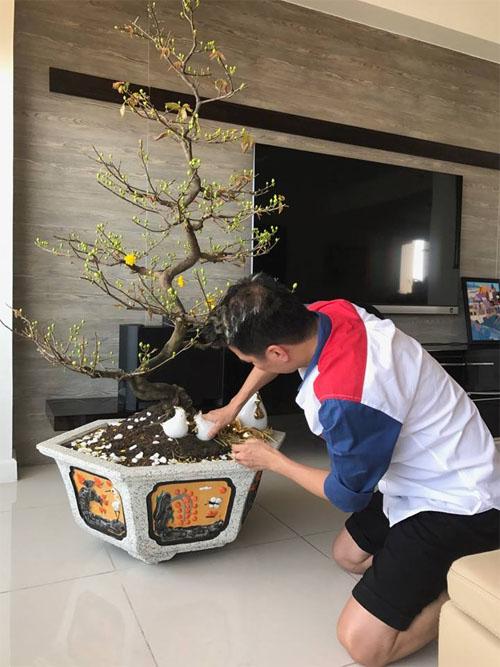 """""""Thăm"""" biệt thự xa hoa của vợ chồng Thuỷ Tiên - Công Vinh ngày Tết - 8"""