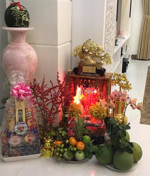 """""""Thăm"""" biệt thự xa hoa của vợ chồng Thuỷ Tiên - Công Vinh ngày Tết - 14"""