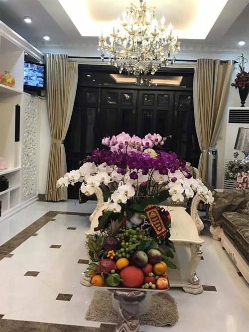 """""""Thăm"""" biệt thự xa hoa của vợ chồng Thuỷ Tiên - Công Vinh ngày Tết - 15"""