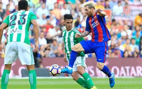 Real Betis – Barca: Nín thở phút 90 - 1