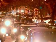 Tin tức trong ngày - Nhiều cung đường ở Thủ đô ùn tắc ngày mùng Một Tết