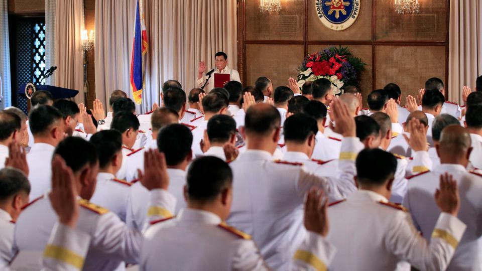 Cảnh sát Philippines giải thể đơn vị chống ma tuý - 1