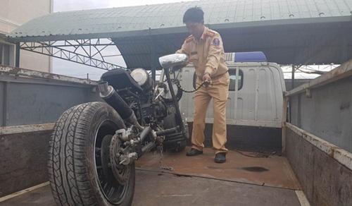 Malaysia sẽ mạnh tay xử lý xe máy độ - 2