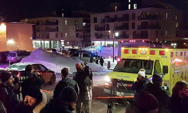 Khủng bố xả súng ở Canada, 6 người thiệt mạng - 1