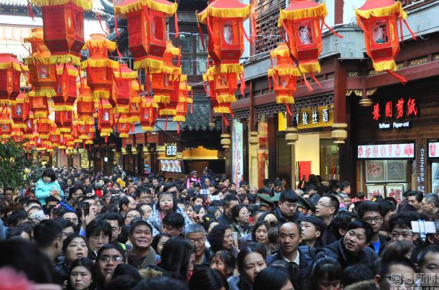 Ảnh: Biển người Trung Quốc du lịch dịp Tết - 3