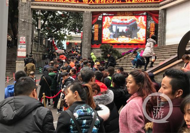 Ảnh: Biển người Trung Quốc du lịch dịp Tết - 10