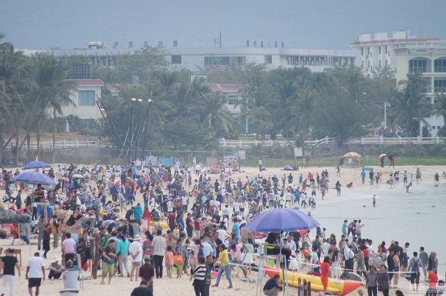 Ảnh: Biển người Trung Quốc du lịch dịp Tết - 12