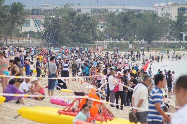 Ảnh: Biển người Trung Quốc du lịch dịp Tết - 13