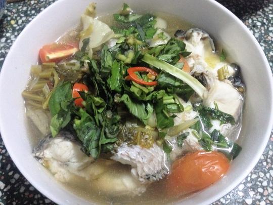 Cá lóc nấu cải chua, món ngon khó cưỡng ngày đầu xuân - 1