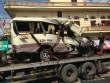 Xe đi lễ gặp tai nạn thảm khốc, 29 người thương vong