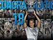 BXH tennis 31/1: Federer trở lại top 10 thế giới