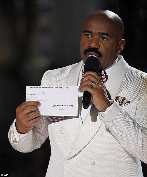 Hồi hộp phút ''MC tội đồ'' Steve Harvey công bố giải Miss Universe 2016 - 1