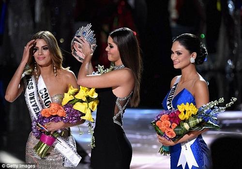Hồi hộp phút ''MC tội đồ'' Steve Harvey công bố giải Miss Universe 2016 - 3